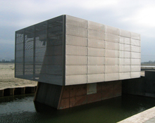 Polder pump station Haveneiland (Harbour Island)