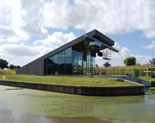 Polder pump station in Delfland
